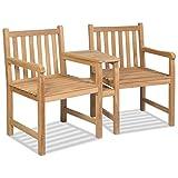 SHENGFENG Campingstuhl braun, 2 Stück, Rattan PE + Stahl + Füße aus Aluminium, Stuhlset für Garten, 56 x 60 x 95 cm