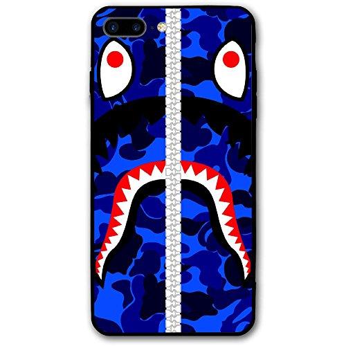 iPhone 7/8Fall, Urban Camo bapee Street Fashion Slim Durable Hard Case für Apple iPhone 7& 8Blau
