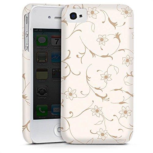 Apple iPhone 5s Housse étui coque protection Fleur Fleurs Fleurs Cas Premium mat