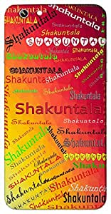 Shakuntala (Wife of Dushyant) Name & Sign Printed All over customize & Personalized!! Protective back cover for your Smart Phone : Motorola Moto - G ( 1st Gen )