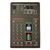 CELEUS 100 - Mixer professionale usb a 3 canali analogico con USB e Bluetooth