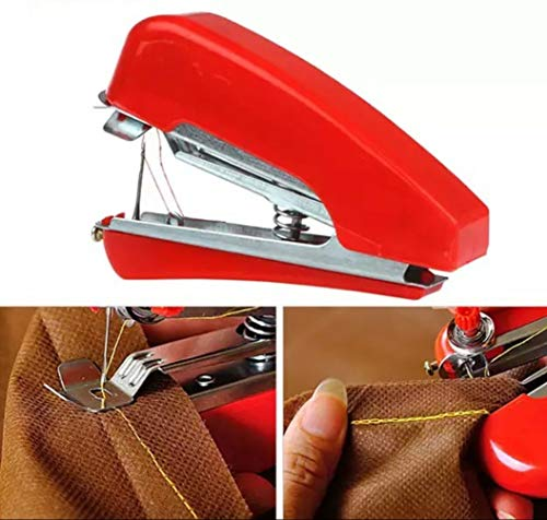 90 Degree® Automatic Mini Hand Cloth Sewing Stapler Machine Portable...