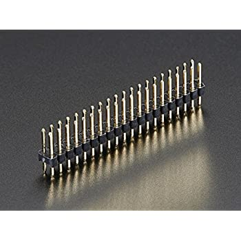 5x Break-away2x20-pin 2.54mm Strip Double Male Connector Dor Raspberry Pi ZeroBR