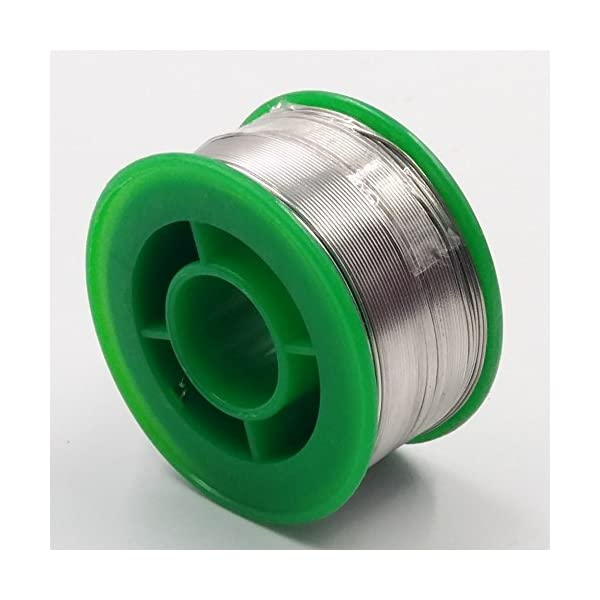 JZK® 100g 99Sn 0,3Ag 0,7Cu Sin plomo 0,6 mm estaño cablealambre de
