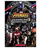 #6: Marvel Avengers Infinity War: Colouring and Activity Book