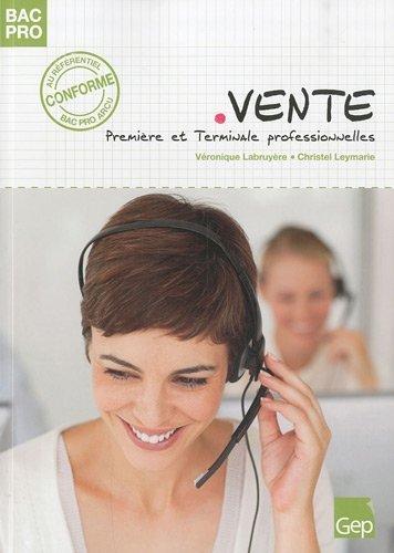 Vente 1e et Tle Bac pro de Véronique Labruyère (23 août 2010) Broché