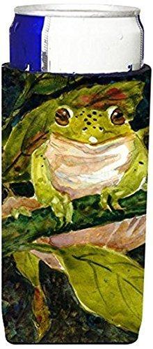 carolines-treasures-mm6015muk-frog-michelob-ultra-koozies-slim-multicolor-by-carolines-treasures