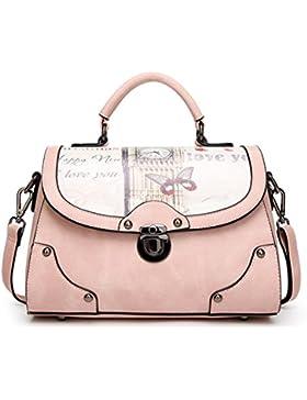 Keshi Cool Damen Handtaschen, Hobo-Bags, Schultertaschen, Beutel, Beuteltaschen, Trend-Bags, Velours, Veloursleder...