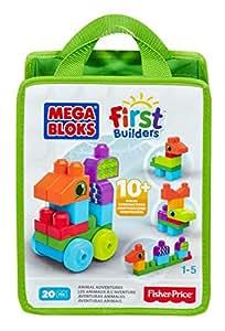Mega First Builders Animal, Multi Color