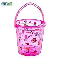 Baby Jem Bebek Banyo Kovası Desenli Şeffaf