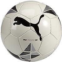 Puma, Pallone, Bianco (White-Black-Metallic Silver), 5