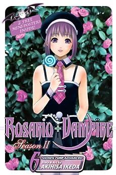 Rosario+Vampire: Season II, Vol. 6: Test Six: Gangstah by [Ikeda, Akihisa]
