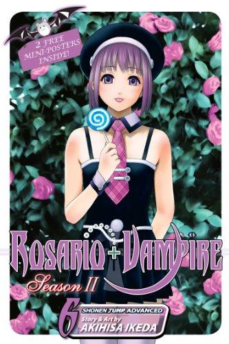 Rosario+Vampire: Season II, Vol. 6: Test Six: Gangstah (English Edition)
