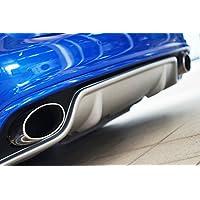 AUSPUFFBLENDE CHROME ENDROHRE SEAT CUPRA STYLE LEON  Sport design