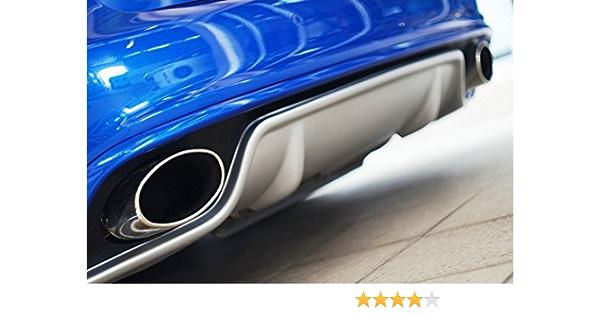 Optimumparts24 Ab 13 2 X Auspuff Endrohre Blenden Chrome Cupra Golf 4 5 6 7 A4 A6 A7 A8 Auto