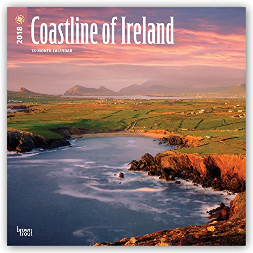 Descargar Libro Coastline of Ireland - Irlands Küsten 2018 - 18-Monatskalender mit freier TravelDays-App: Original BrownTrout-Kalender de Browntrout