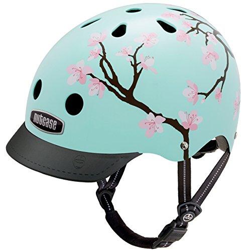 frauen helm Nutcase - Street, Fahrradhelm für Erwachsene, Cherry Blossoms, Klein