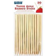 PME LS174 Bâtons en Bambou pour Pommes d'Amour 13 cm, Paquet de 30, Bois, Brown, 0,3 x 0,3 x 13 cm