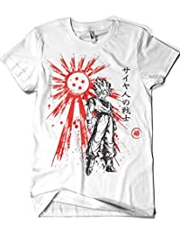 1119-Camiseta Saaiyan Warrior (Dr.Monekers)