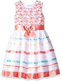 05782e17243ae2 Bonnie Jean Girl s Sleevless Bow Front Party Special Occasion Dress