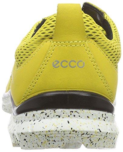 Ecco Ecco Biom Trail Kids, Baskets Basses garçon Multicolore - Mehrfarbig (BAMBOO/BAMBOO-BLACK59404)