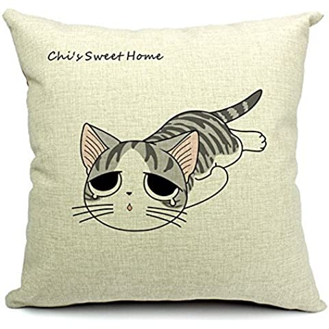 Jtartstore Free Shippng 2015 New Chi's Sweet Cotton And Linen Back Cushion Sofa Chair Seat Cushion Home 18 x 18