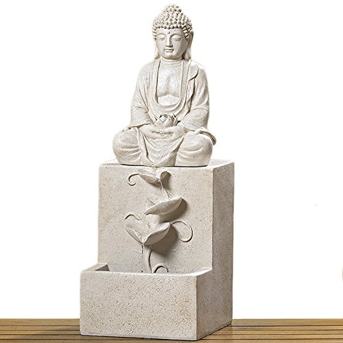 Brunnen Outdoor Buddha Tya H62 Material: Kunsthar