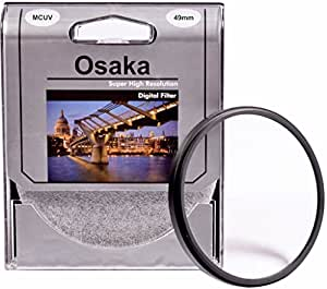 Osaka 49mm Multi Coated UV Filter MCUV 4 Layer Coating