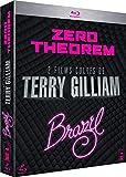 2 films cultes de Tery Gilliam: Zero Theorem + Brazil [Blu-ray]