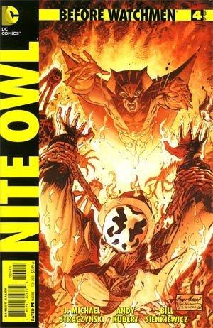 Owl #4 (of 4 ) Regular Andy Kubert Cover Comic Book by DC Comics ()