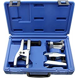 Alkan–Extractor de pernos articulado de Juego para Rótula Articulación,) pernos y Rótula de dirección (/Universal Extractor Set en una caja de almacenamiento,, de 3piezas