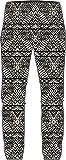 O'Neill Damen Beachy Beach Pants Streetwear Hose, Black AOP W/White, M