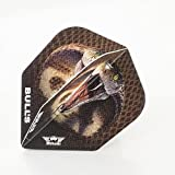 1 x SET BULLS DART FLIGHTS KING COBRA