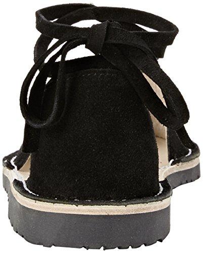 Solillas Noche Tobillo, Slingback sandales femme Noir (noir)