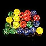 LEDMOMO Easter Egg LED String Lights 2.2M 20 Eier Bunte Leuchten Eier für Ostern Dekoration Garten Frühling Dekoration