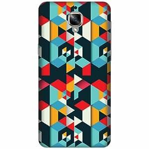 PrintlandPrintedHard Plastic Back Cover For OnePlus 3T -Multicolor