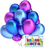 HD+ Mettalic finish balloons Blue+ Pink ...