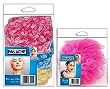 PANACHE Bath Puff & Shower Cap (Pack of ...