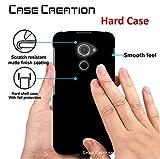 #7: Case Creation BlackBerry DTEK60 Back case,Branded Luxury Rubberised Matte Hard Case Back Cover for BlackBerry DTEK60/BlackBerry DTEK 60 5.20 inch5.20 inch Color - Luxury Black