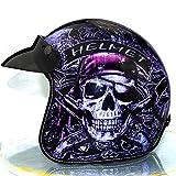 HOT 3/4 casque rétro vintage casques ouverts cascos capacetes casque casques de moto...