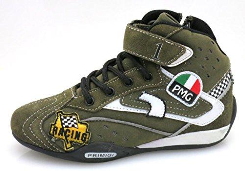 Primigi hohe Sneaker Knöchelschuhe khaki military Schuhe EU 28 Khaki