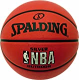 Spalding Men's NBA Outdoor Basketball-Silver, Size 7