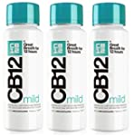 CB12 250ML 3 PACK MILD MINT Safe Brea...