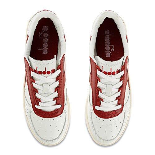Diadora , Baskets pour homme Blanc - White Red Pepper
