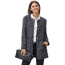 Amazon.es  abrigo negro mujer - 4 estrellas y más d83ece4cfd5d