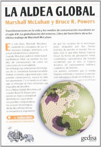 Aldea global (Mamífero Parlante) por M. Mcluhan