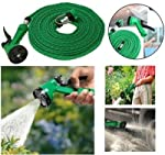 Multifunctional Water Spray Gun with handle to turns unit on and off adjustable spray nozzle adjusts from pencil point to fan spray pattern Total 4 different spray modes Tough, high impact molded body Light weight and portable Length-10 meters Featur...