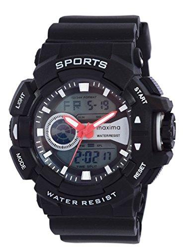 Maxima 43903PPAN  Analog-Digital Watch For Unisex