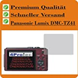 2x Panasonic Lumix DMC-TZ41 Entspiegelnde Displayschutzfolie Schutzhülle Displayschutz Displayfolie Folie