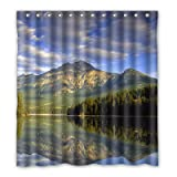 Dalliy Brauch berg Wasserdicht Polyester Shower Curtain Duschvorhang 167cm x 183cm